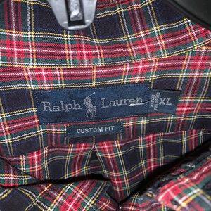 Multi color Ralph Lauren Polo shirt.